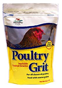 Manna Pro Insoluble Crushed Granite Poultry Grit for all classes of poultry.