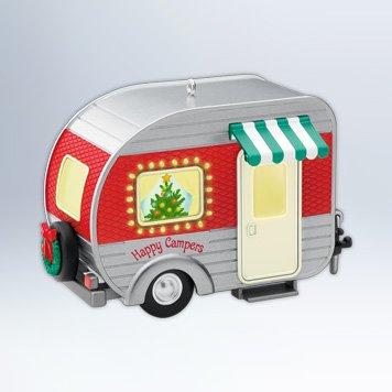 QXG4324 Happy Campers 2012 Hallmark Keepsake Ornament (Hallmark Campers compare prices)