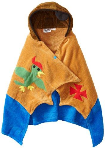 Kidorable Boys 2-7 Pirate Towel, Brown, Small