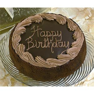 Chocolate Fudge Birthday Cake 4.5 Lbs., Serves Approx. 16 Kosher Ou-d