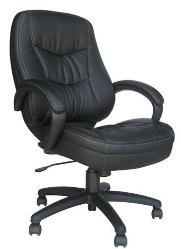Kardiel Eames Style Plywood Lounge Chair & Ottoman, Black Aniline/Walnut
