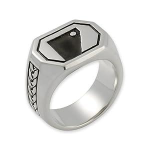 The Hobbit Jewelry Herren-Siegelring Bombur Gr. 69 (22.0) 19009949