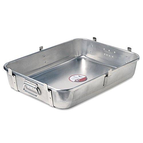 Vollrath 68362 10-Gauge Aluminum Wear-Ever Roasting Pan Bottom with Straps, 29-1/2-Quart