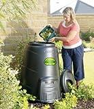 Blackwall Compost Converter, 330 litres, Black