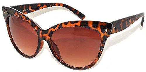Stylish Fashion Vintage Cat Eye Sunglasses Uv Protection