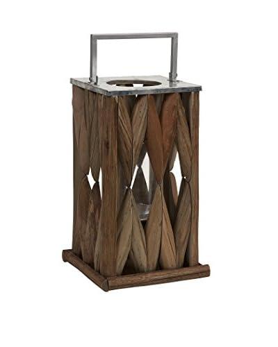 Large Santiago Wooden Lantern