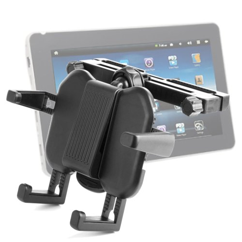 Duragadget Expandable In-Car Firm Grip Cradle Mount For Use With Acer Iconia Tab A211, Iconia Tab A210 & Epad Flytouch 3 front-1061722