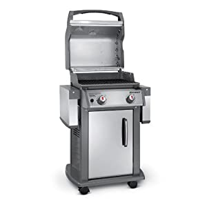 Weber 47100001 Spirit S210 Natural Gas Grill, Stainless Steel by Weber