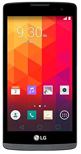 LG Leon 4G Smartphone (11,43 cm (4,5 Zoll) IPS-Display, 1,2 GHz-Quad-Core-Prozessor, 5 Megapixel-Kamera, LTE, 8 GB interner Speicher, Android 5.0) titan