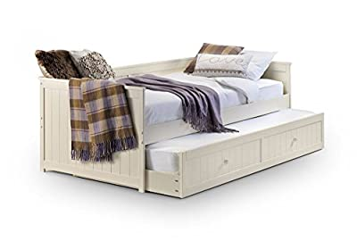 Happy Beds Jessica Guest Bed Wooden Stone White Space Saving Mattresses