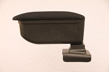 Weiß für Skoda Fabia 2 II 2007 Armlehne Mittelarmlehne Leder Bezug Schwarz
