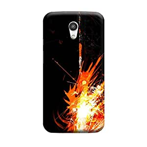 iCover Premium Printed Mobile Back Case Cover With Full protection For Moto G2 (Designer Case)