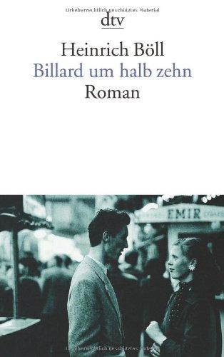 Billard Um Halb Zehn (German Edition)