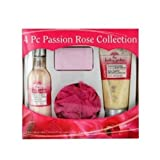 Passion Rose 4 Piece Body Collection by The Healing Garden English Manual