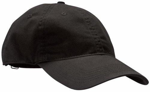Econscious 100% Organic Cotton Twill Baseball Hat (Black) front-907916