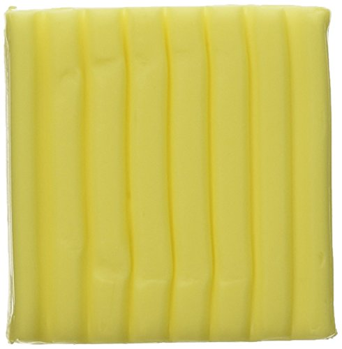 Fimo Soft Polymer Clay 2 Ounces-8020-104 Transparent Yellow (Polymer Clay Fimo Classic compare prices)