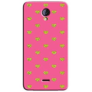 PINK HEARTS BACK COVER FOR MICROMAX UNITE 2