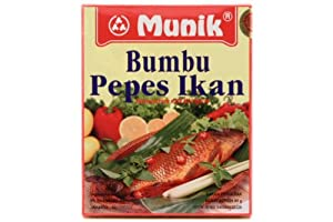 Bumbu Pepes Ikan (Steamed Fish with Hot Spices) - 3.2oz (Pack of 1)