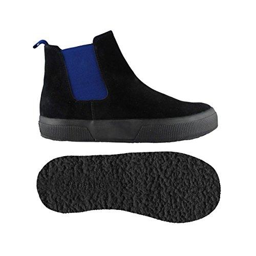 Stivaletti - 2318-suej - Bambini - Black-Intense Blue - 37
