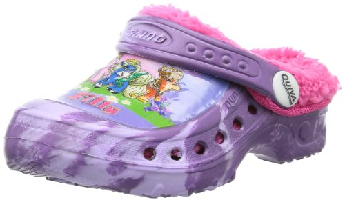 Filly Fairies Girls girls kids clog sandals & mules Clogs And Mules multi-coloured Mehrfarbig (PURPLE-LILAC/D.FUXIA) Size: 12.5 (31 EU)