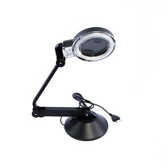 beste qualit ts tischlupe lampe vergr erungsglas mit beleuchtung lampe kompakt lupe licht von. Black Bedroom Furniture Sets. Home Design Ideas
