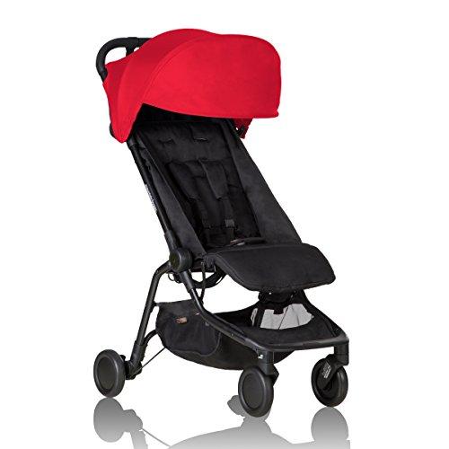 Mountain Buggy-Passeggino Nano Rosso
