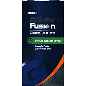 Gillette Fusion ProSeries Intense Cooling Lotion - 3.3 oz.
