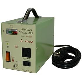 【クリックで詳細表示】日章工業 トランスフォーマSPシリーズ(電圧ダウン)220・240V→100V1100W SP-1100: ホーム&キッチン
