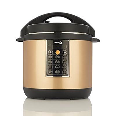 Fagor America Lux Copper-colored Ceramic 8-quart Mulitcooker