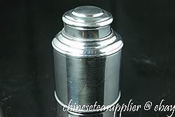 Tin Canister, 50g Tea Capacity(Super airtight, thick tin material)