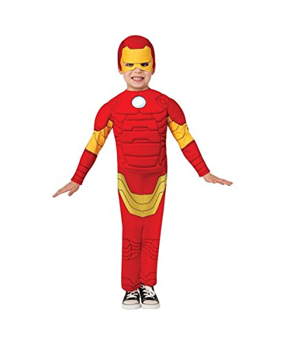 Ironman Padded Muscle Toddler Kids Costume