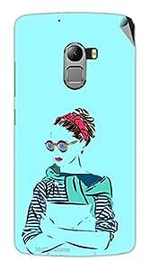 Miicreations Mobile Skin Sticker For Lenovo Vibe K4 Note,Pattern