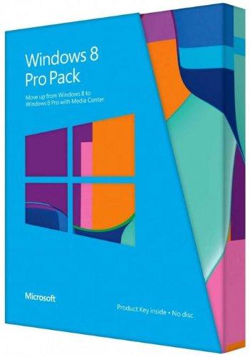 Microsoft Windows 8 32bit/64bit Italian Versions Update Packet DVD
