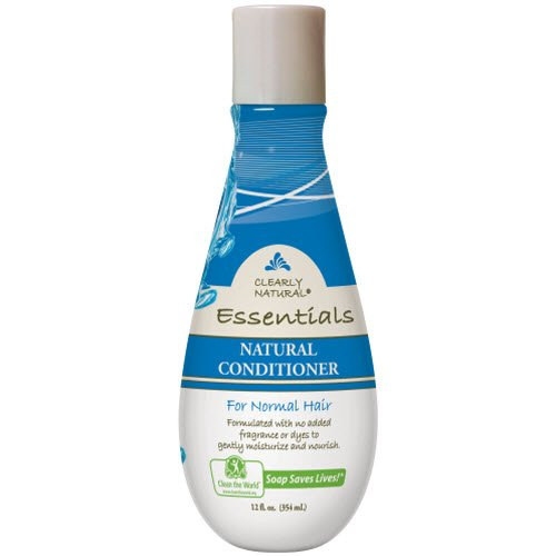 natural hair conditioner Clearly Natural Essentials Conditioner for Normal Hair, 12 Fluid Ounce