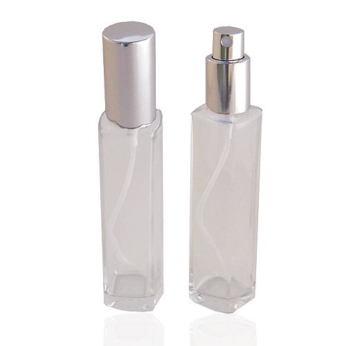 Empty Refillable Perfume or Cologne Glass Perfume
