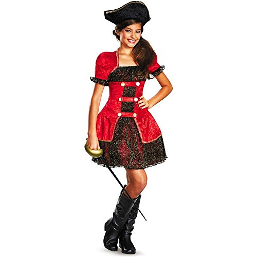 High Seas Pirate Lass Tween Kids Costume