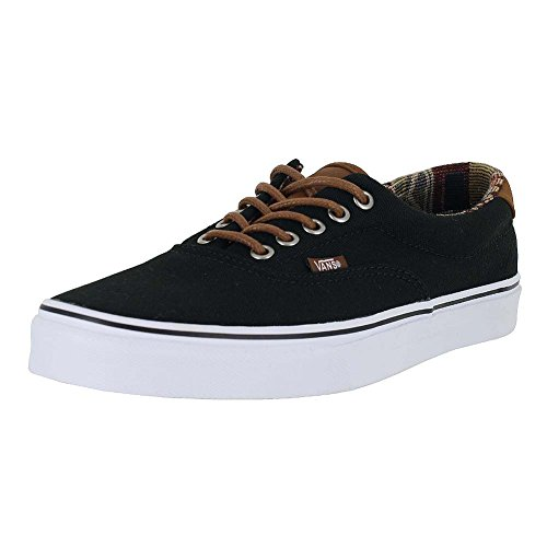 Vans Unisex Era 59 (C&L) Black/Geo Weave Skate Shoe 10.5 Men US / 12 Women US