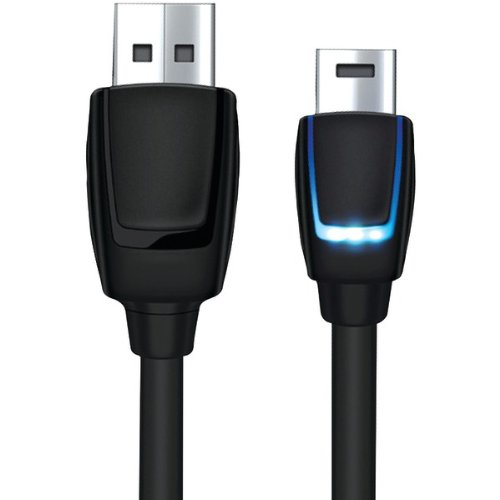 Dreamgear Dgps4-6405 Playstation(R)4 Led Charge Cable, 10Ft (Dgps4-6405)