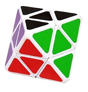 Amazon.com: Lanlan 4-axis Octahedron Cube Puzzle Diamond ...