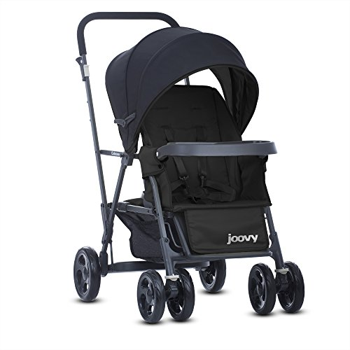 Buy Cheap Joovy Caboose Graphite Stand On Tandem Stroller, Black