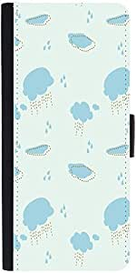 Snoogg Cloudy Rainy Patterndesigner Protective Flip Case Cover For Xiaomi Mi 4