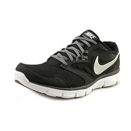 Nike Mens Flex Experience Rn 3 Black/Mtllc Slvr/Drk Gry Gry/White Running Shoe 9 Men US