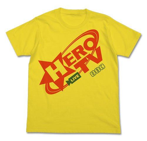 TIGER & BUNNY HERO TV Tシャツ イエロー サイズ:M