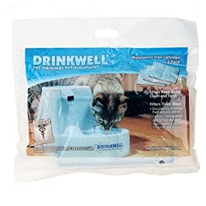 Radio Systems Corporation Drinkwell Fountain Replacement Filters Cat 3 pack Bowls & Feeding Supplies