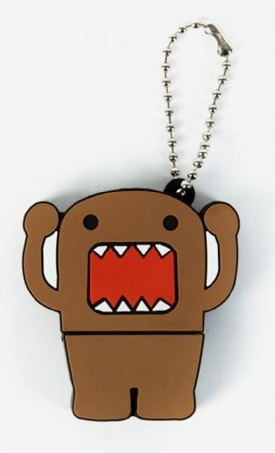 Image of Domo Rubber 4gb Usb Flash Drive Keychain