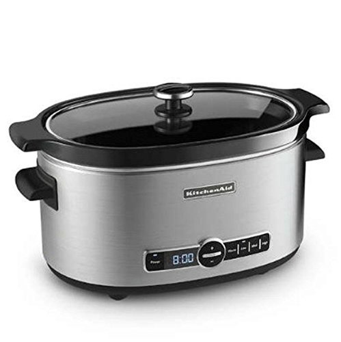 KitchenAid Stainless Steel 6-quart Slow Cooker (Kitchenaid Crockpot compare prices)