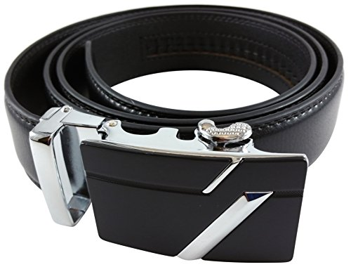 Soft Genuine Leather Ratchet Dress Belt Medium by Sirmco Supplies (Cool Belt Buckels compare prices)
