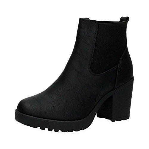 damen-plateau-chelsea-boots-stylische-stiefel-mit-dehnbarem-einsatz-und-block-absatz-schlupf-stiefel