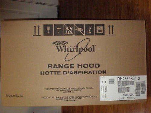 Whirlpool Range Hood Rh2330Xjt3 front-39838