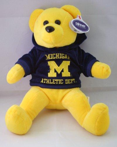NCAA Michigan Wolverines Hoodie Bear